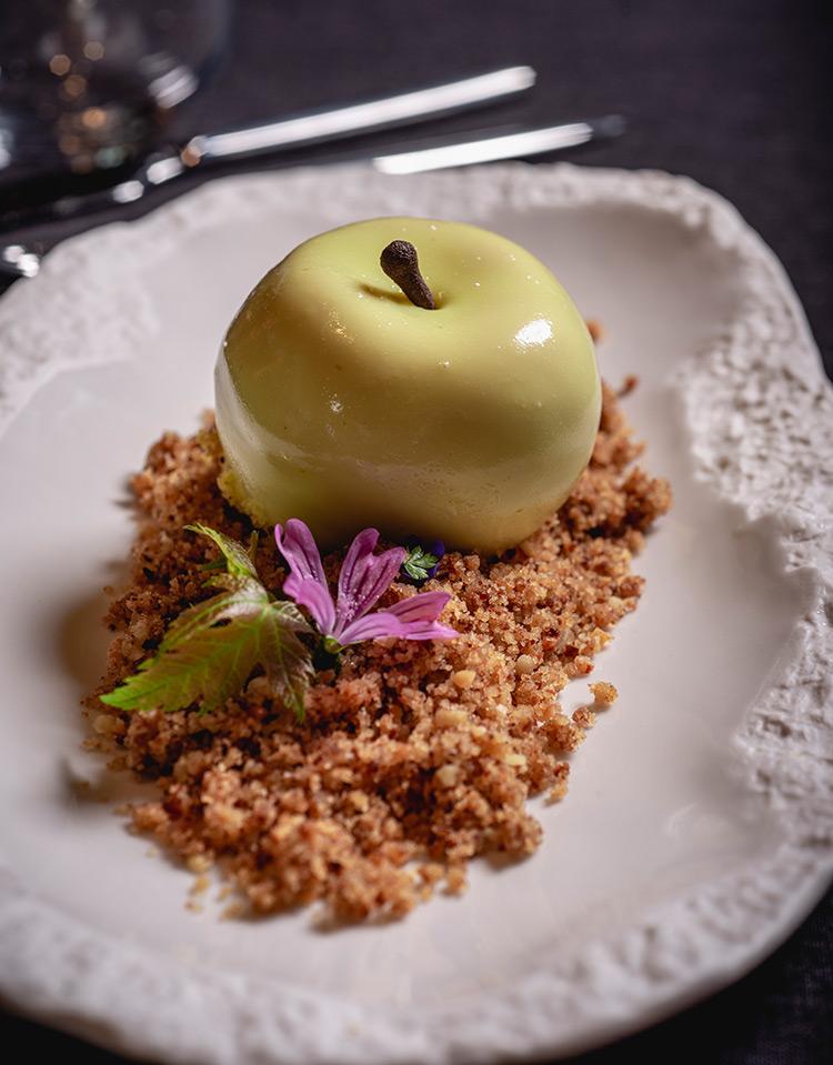 ябълка-десерт-начална